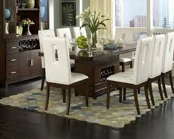 Dining Room Table Setting Ideas Cream Rug Dining Room Centerpiece Ideas Candles Brown Carpet