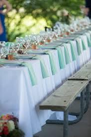 Mint Green Table Cloths 64 Best Mint Green Wedding U0026 Event Decor Images On Pinterest