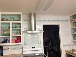 White Subway Tile Kitchen Backsplash by Glass Subway Tile Kitchen Backsplash Decorating The Interior