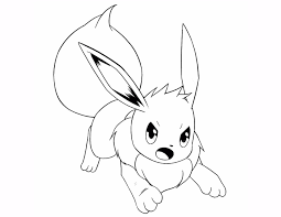 eevee coloring pages eevee pokemon coloring page free printable