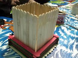 cara membuat kerajinan tangan menggunakan stik es krim coretanku cara membuat tempat pensil dari stik es cream