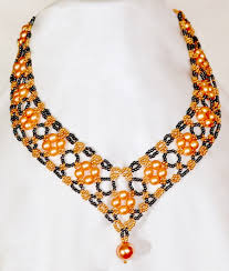 beads jewelry necklace images Free pattern for beautiful beaded necklace margaret beaded jpg