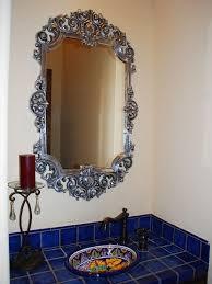 Mexican Bathroom Ideas Mexican Bathroom Ideas Green Talavera Tile In Bath Indeed Decor