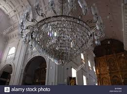 Church Chandelier Chandelier In The Church Of S Francis Of Assisi Goa India