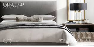 Custom Platform Bed Fabric Bed Collections Rh