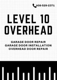 Overhead Door Santa Clara Level 10 Overhead Provides All Sort Of Garage Door Repairs In