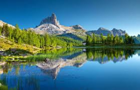 free picture nature landscape lake wood mountain water