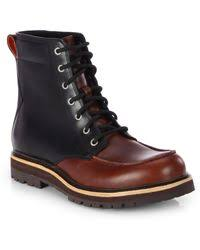 ugg noxon sale ugg noxon waterproof boots in brown for lyst