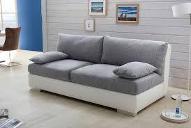 sofa grau weiãÿ dauerschlafsofa dauerschläfer in grau weiß mit bettkasten 2