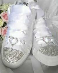 wedding shoes converse beautiful bling converse for wedding photos styles ideas 2018