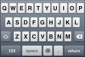 email keyboard layout iphone the iphone s virtual keyboards a visual catalogue global nerdy