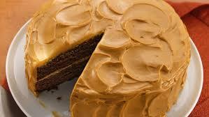chocolate cake with caramel frosting u2014 recipes hubs