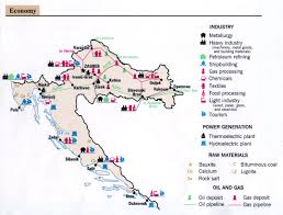 Map Of Central Italy by
