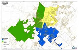 kyle map voting districts map city of kyle official website