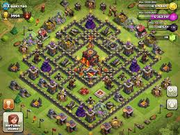 Clash Of Clans Maps Base New Th 9 Base Thread Clashofclans Chainimage