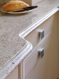 curved granite finish extreme design kitchen worktop breakfast