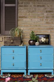 furniture makeover turquoise asian inspired nightstands cassie