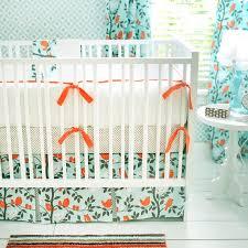 Orange Crib Bedding And Orange Nursery