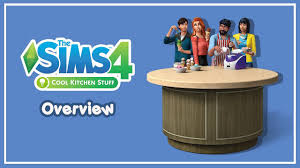 thai the sims 4 cool kitchen stuff overview youtube