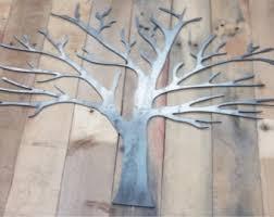 metal tree wall etsy