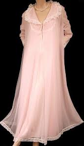 Vanity Fair Coloratura Nightgown Bathroom The Most Vanity Fair Embroidered Pink Chiffon Nightgown