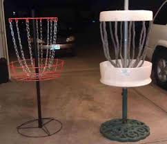 a great build at home disc golf target or a better use for 55 gal