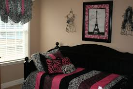 parisian themed bedroom for home design ideas and pictures