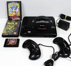 Ebay Desktop Computer Bundles by Sega Genesis 1601 Vintage Video Game System Console Bundle Ntsc