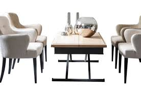 Dining Table And Fabric Chairs Grange A L U0027improviste Coffee And Dining Table Cote Design