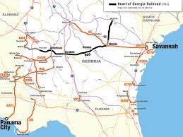 Georgia Usa Map by G U0026w Buys Heart Of Georgia Railroad Railway Gazette