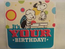 snoopy greeting cards