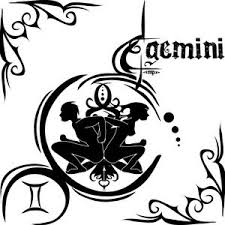 female tattoo with gemini tattoos design art of tattoos