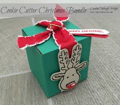 craftycarolinecreates cookie cutter christmas surprise gift box