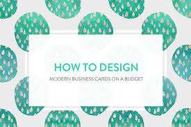 Budget Business Cards How To Design Modern Business Cards On A Budget The Hungry Jpeg