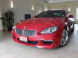 red bmw used imola red bmw 650i xdrive full options for sale in toronto