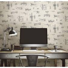 graham u0026 brown vintage black removable wallpaper 50 223