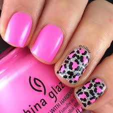 best 10 pink leopard nails ideas on pinterest leopard nail