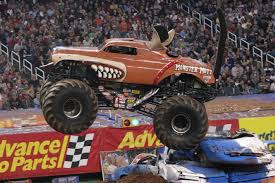 monster trucks shows candice jolly revs up the crowd at monster jam saturday feb 25th