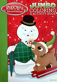 buy rudolph red nosed reindeer coloring u0026 activity book