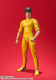 bruce yellow jumpsuit bruce bruce yellow jumpsuit s h figuarts figure