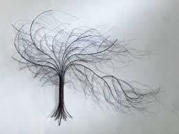 sensational design metal wall tree gallery black aspen trees