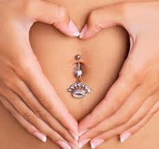 get a piercing on belly button procedure and aftercare md