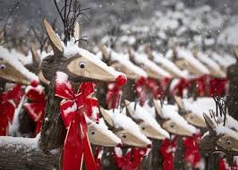 Wooden Christmas Reindeer Yard Decorations by 64 Best Rustic Deer Images On Pinterest Christmas Ideas