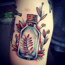 mer enn 25 bra ideer om bottle tattoo på pinterest tradisjonelle