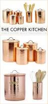 Copper Canister Set Kitchen Accessories Accessories Of Kitchen Copper Kitchen Accessories