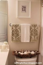 Roman Bathroom Accessories by My Space Main Floor Bathroom Setting For Four