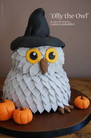 Halloween Cakes Designs by 103 Best Owl Cakes Images On Pinterest Owl Cakes Recipes And