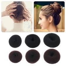 hair bun maker women sponge hair bun maker ring donut shape hairband styler