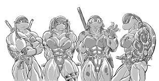 mutant female ninja turtles blackkheart deviantart