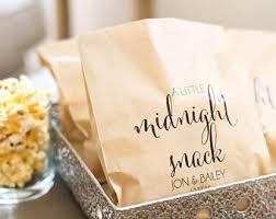 wedding treat bags wedding favor bags etsy